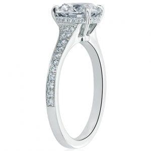 Forevermark Round Diamond Engagement Ring Setting