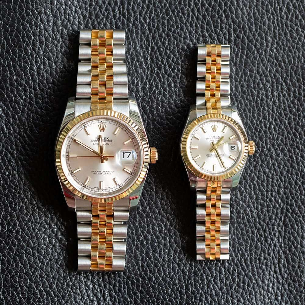 His and Hers Rolex Watches