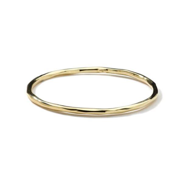 Ippolita Gold Glamazon Thin Faceted Bangle