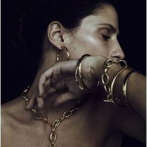 Ippolita Gold #3 Glamazon Bangle Bracelet