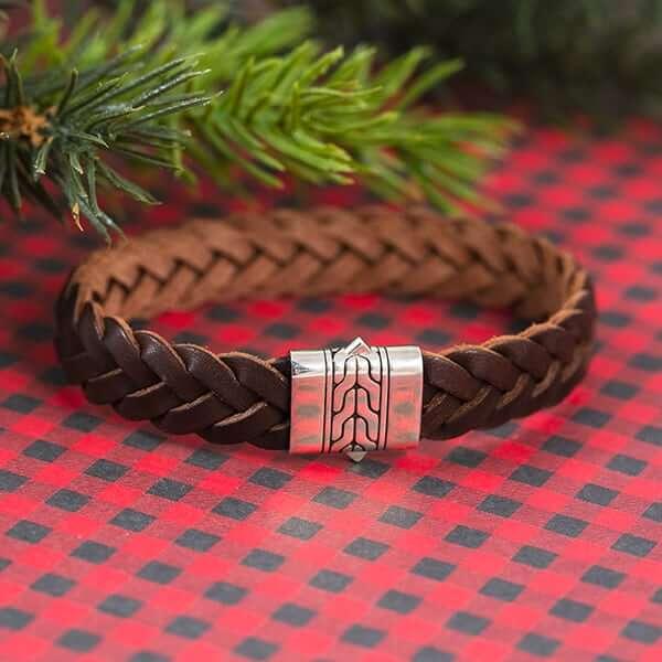 John Hardy leather bracelet