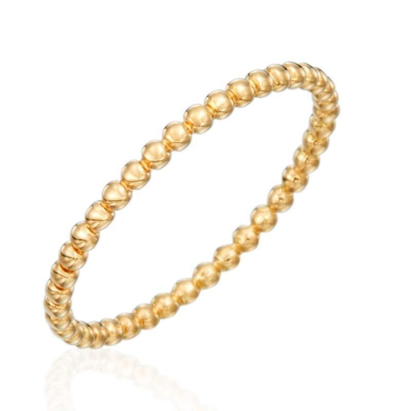 Gumuchian Nutmeg 18k Yellow Gold Stackable Ring
