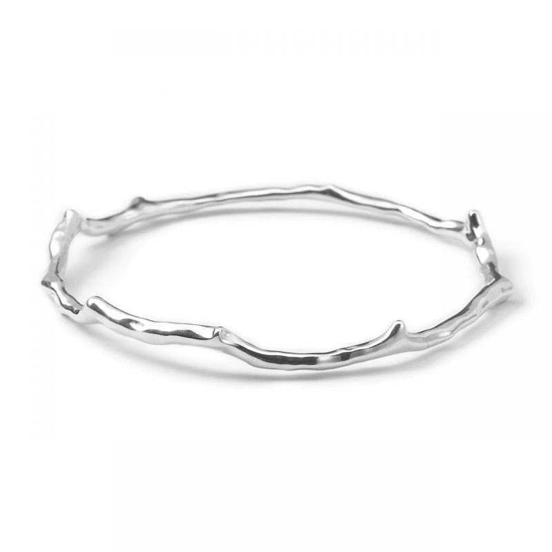 Ippolita Glamazon Reef Bangle Bracelet in Sterling Silver