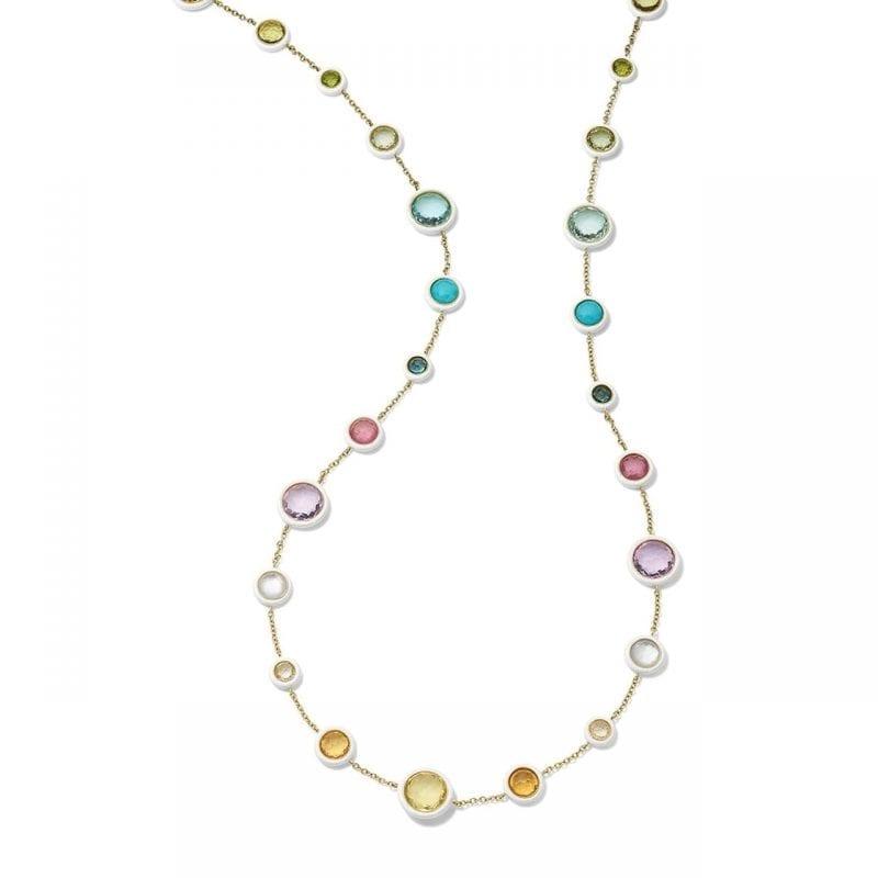 Ippolita Carnevale Long Lollitini Necklace in Rainbow