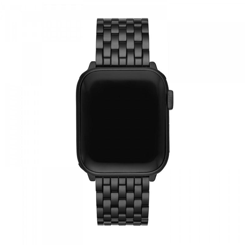 Michele 38/40mm Black IP-Plated  Apple Watch Strap
