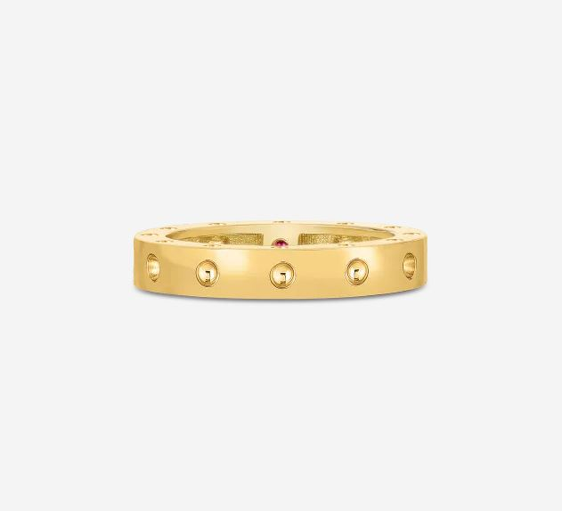 Roberto Coin 18k Yellow Gold Round Ring