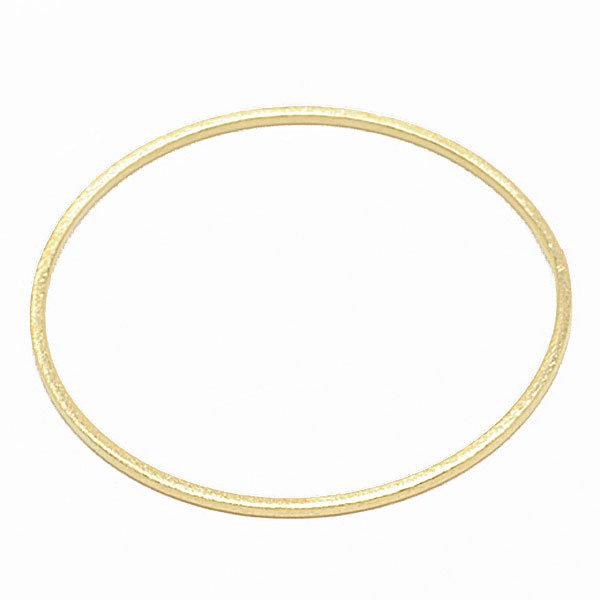 Sheila Fajl Thin Flat Bangle Bracelet