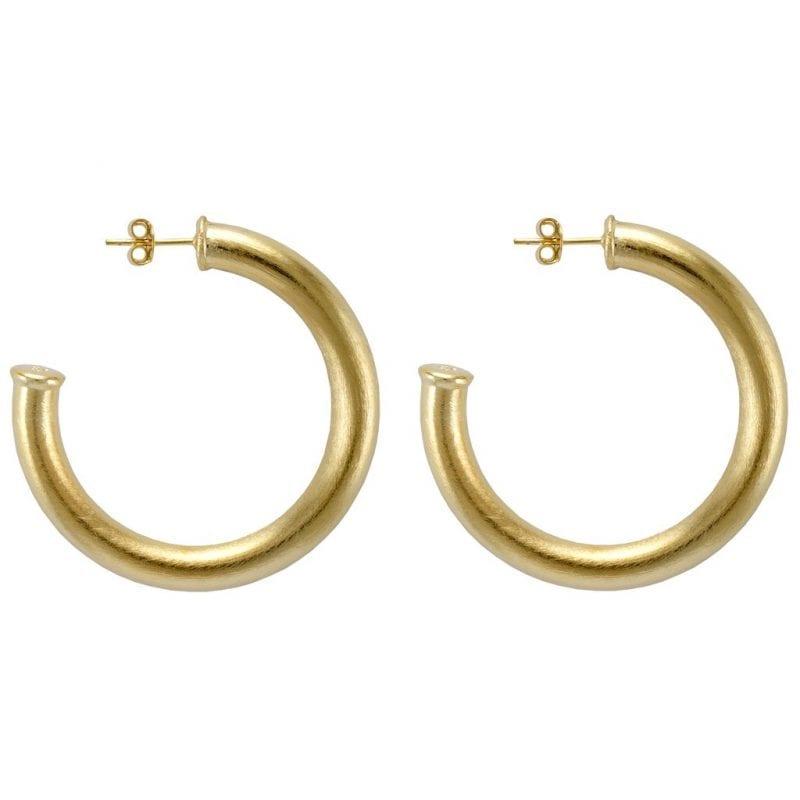 Sheila Fajl Chantal Hoop Earrings