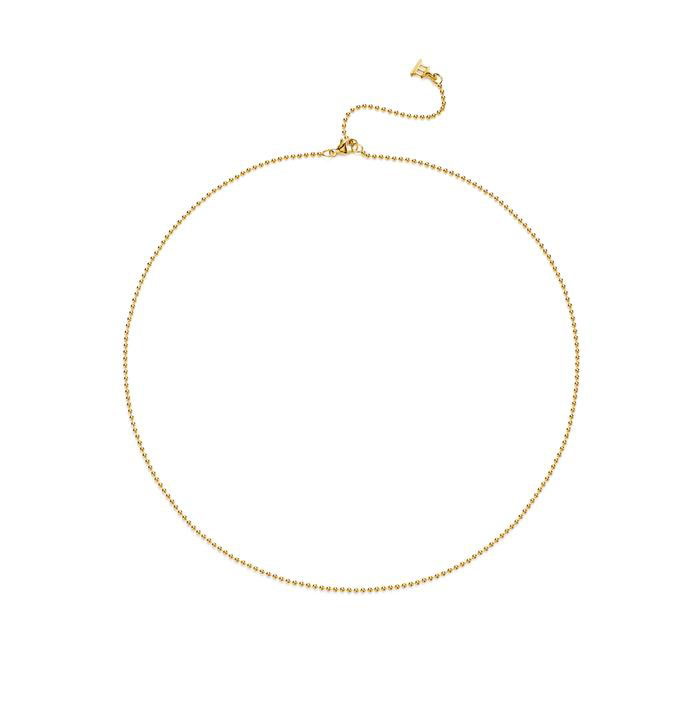 """Temple St. Clair Ball Chain in 18k Gold, 18"""""""