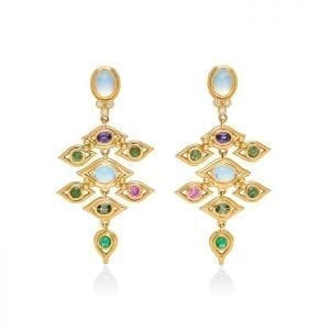 Temple St. Clair 18k Yellow Gold Campo De' Fiori Earrings