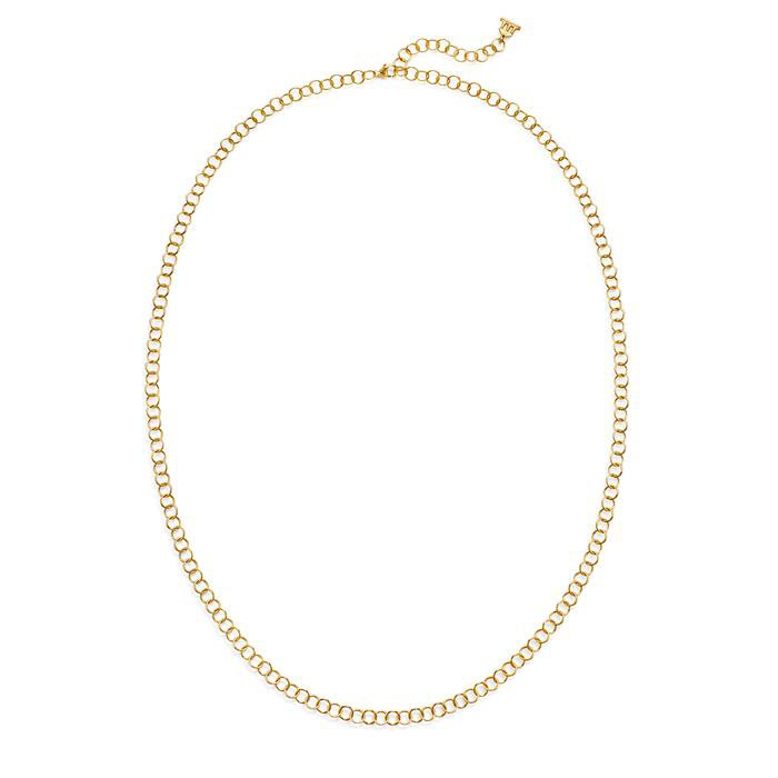 Temple St. Clair 18k Yellow Gold Round Chain Necklace