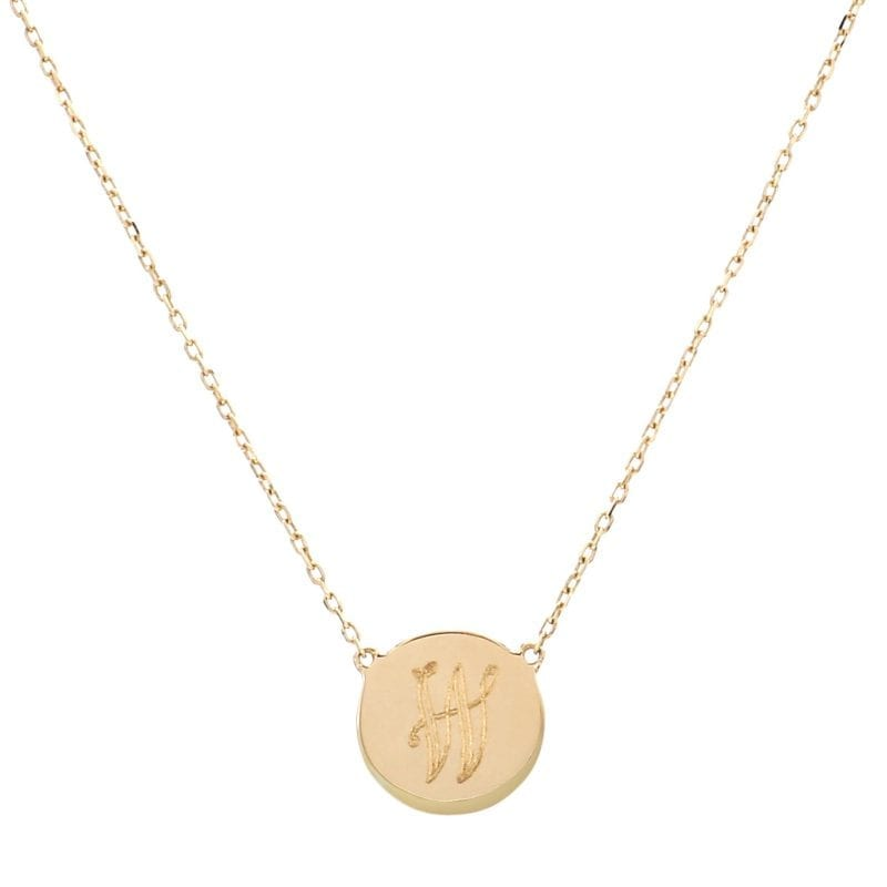 Bailey's Heritage Collection Small Disc Pendant Necklace