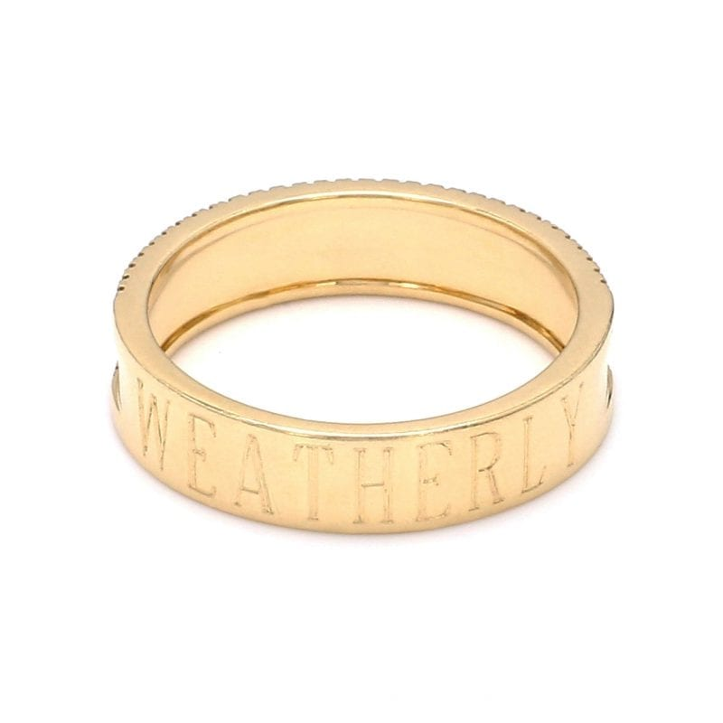 Bailey's Heritage Collection Weatherly Band Ring