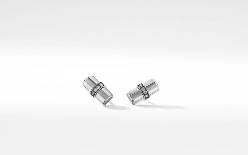 Lexington Stud Earrings with Diamonds