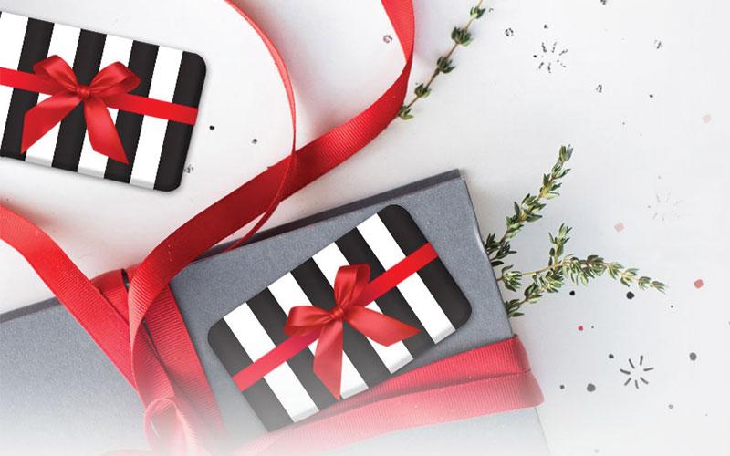 Baileys gift card image christmas theme