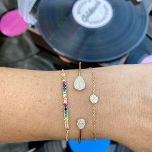 Bailey's Goldmark Collection Pave Diamond Circle Bracelet