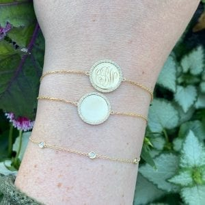 Bailey's Heritage Collection Round Disc Bracelet
