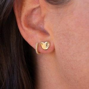 Bailey's Heritage Collection Heart Stud Earrings