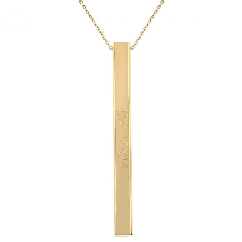 Bailey's Heritage Collection Vertical Bar Necklace