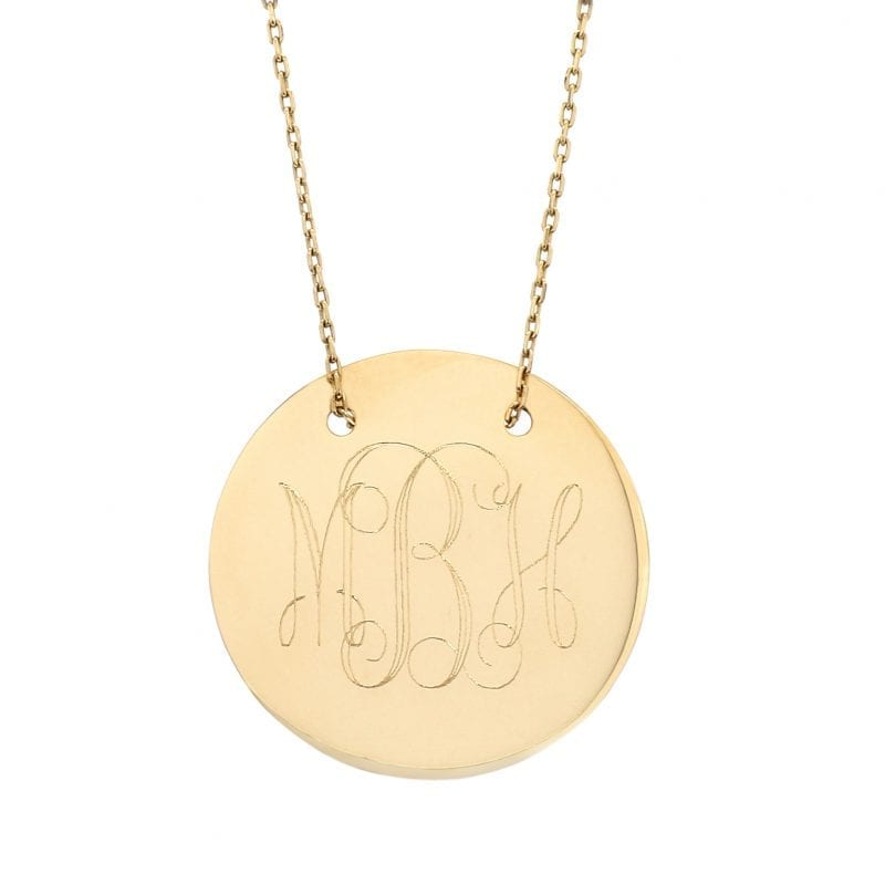 Bailey's Heritage Collection Polished Disc Pendant Necklace