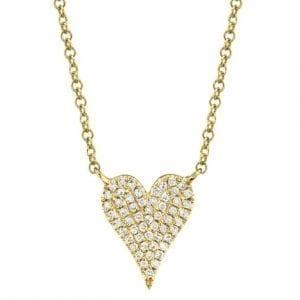 Bailey's Goldmark Collection Diamond Heart Necklace