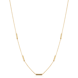 Bailey's Goldmark Collection Station Necklace in 14k Yellow Gold