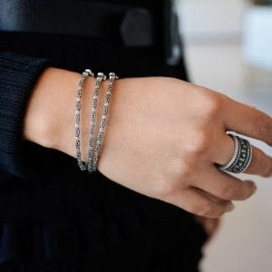Freida Rothman Eternity 5-Stack Ring