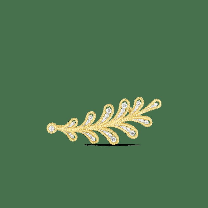 Roberto Coin 18k Diamond Byzantine Barocco Brooch