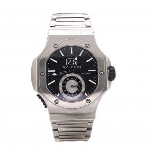 Pre-Owned Bvlgari 2014 Stainless Steel 47mm Endurer Chronosprint Watch