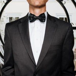 Brackish White Bow Tie