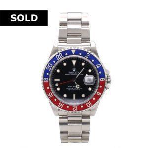 40mm GMT-Master Pepsi Rolex Watch