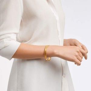 Julie Vos Savoy Bangle Bracelet