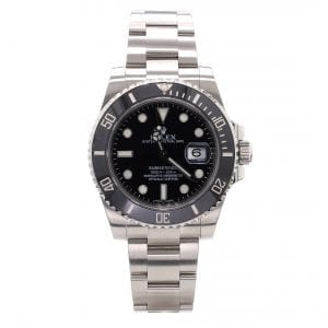 Bailey's Certified Pre-Owned Rolex 2018 Stainless Steel 40mm Submariner Date
