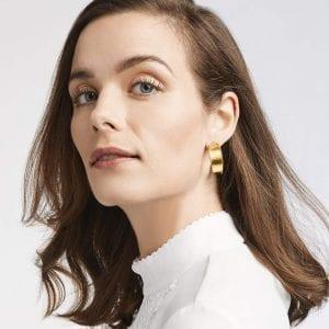 Julie Vos Savoy Hoop Earrings