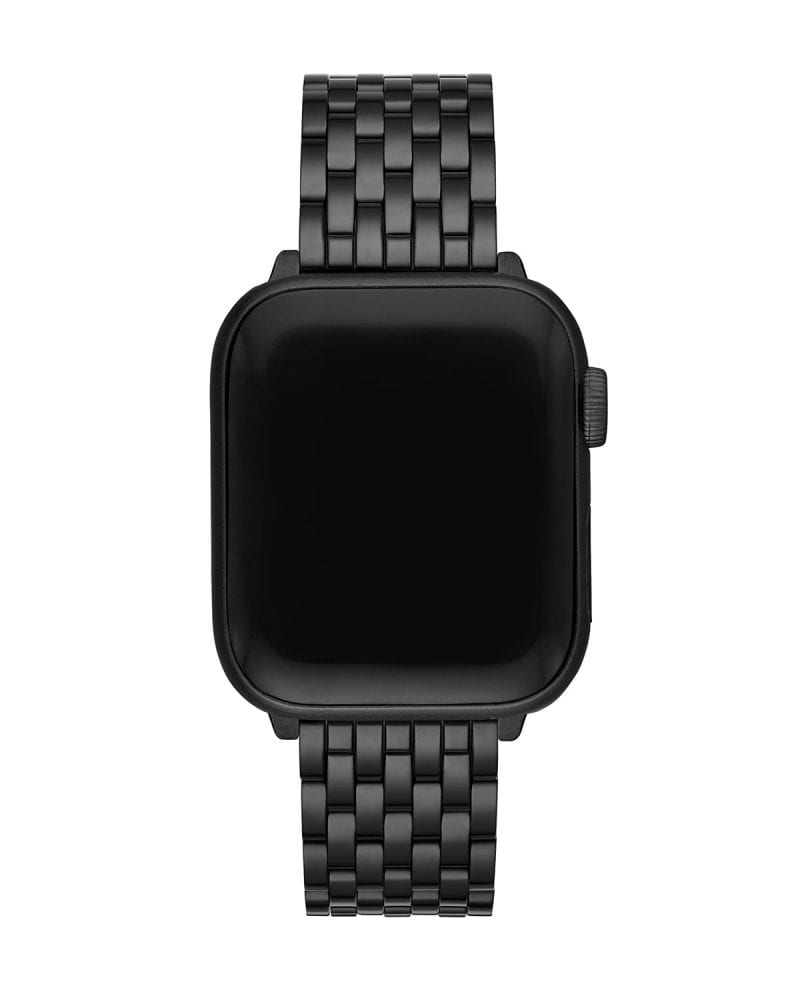 Michele Black Ion Plated Apple Watch Strap