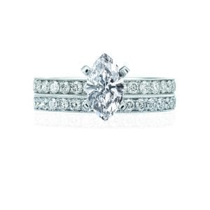 Milgrain Classic Engagement Ring Setting
