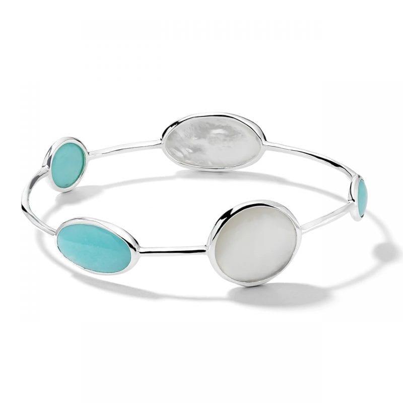 Ippolita Sterling Silver 5-Stone Bracelet in Cascata