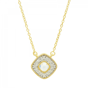 Freida Rothman Stone Pendant Necklace