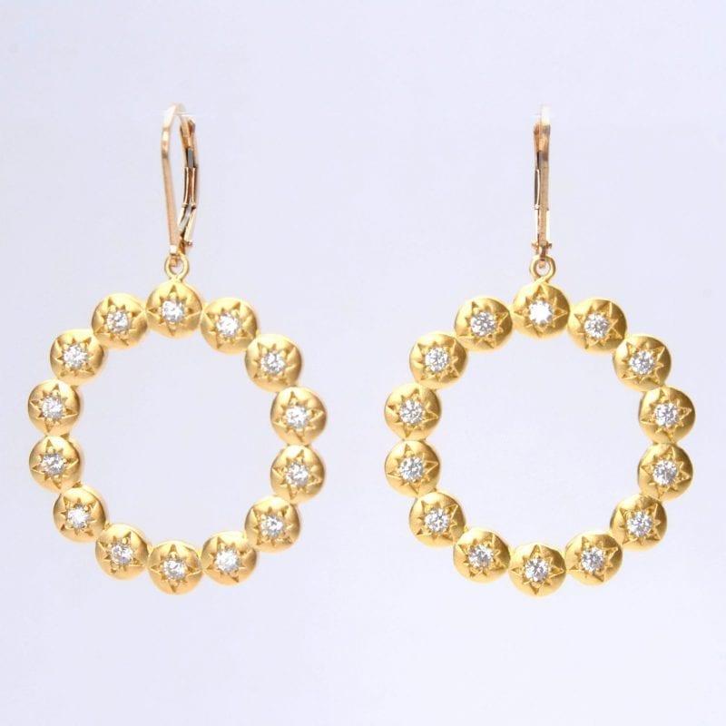 Wendy Perry Miraval Hoop Earrings