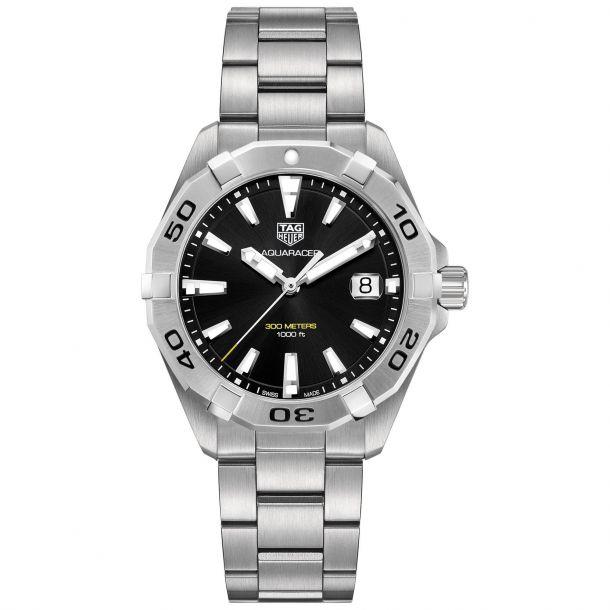TAG Heuer Aquaracer 41mm Quartz Watch Black Dial