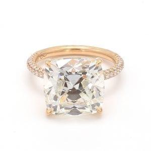 Forevermark Cushion Diamond Engagement Ring