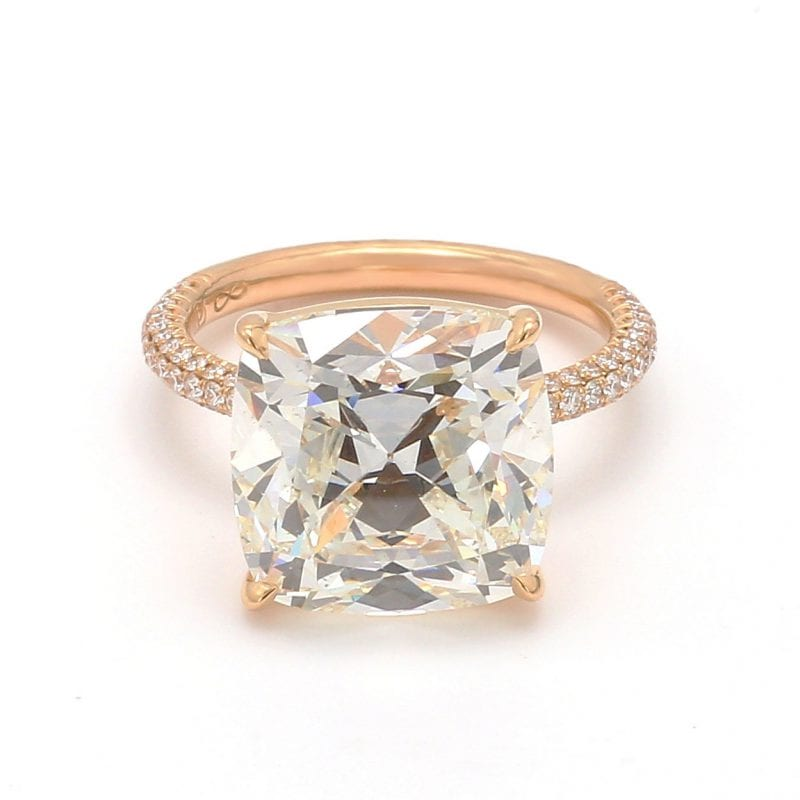 Forevermark Cushion Diamond Engagement Ring