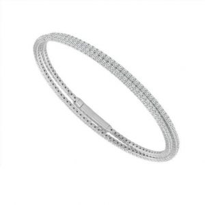 baileys club collection diamond double wrap bracelet in 14kt yellow gold