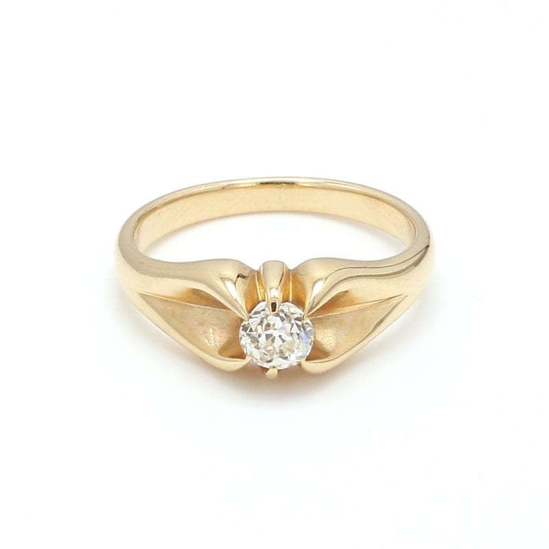 Bailey's Estate Diamond Solitaire Ring