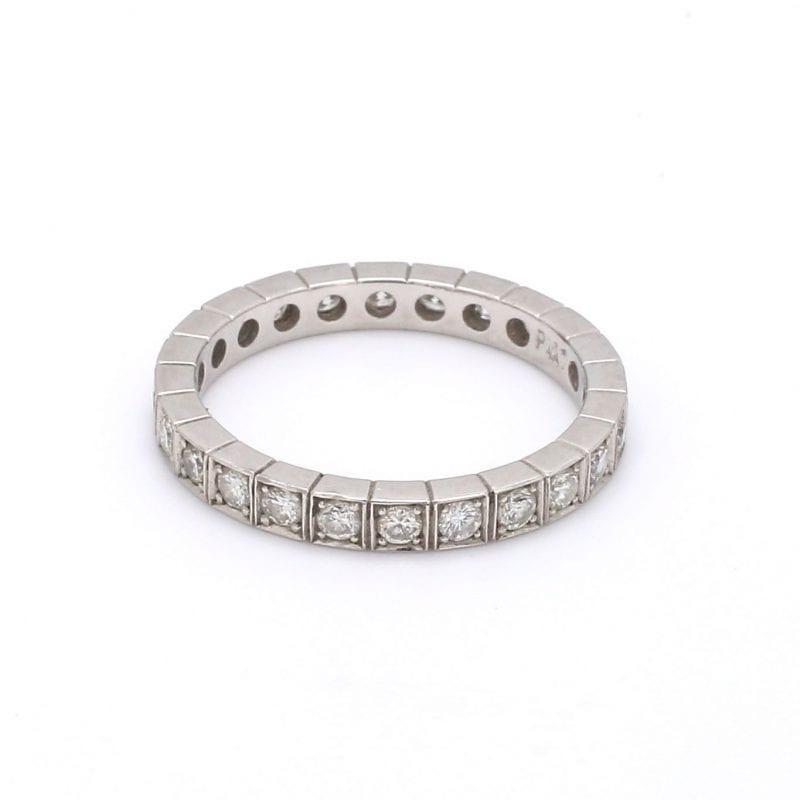 Bailey's Estate Diamond Square Eternity Ring