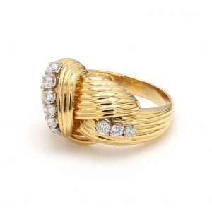 Bailey's Estate Crossover Diamond Ring