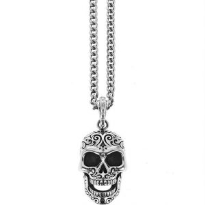 king_baby_necklace_sterling_silver_laughing_skull_pendant_attched_to_a_24_in_curblink_chain_necklace_1