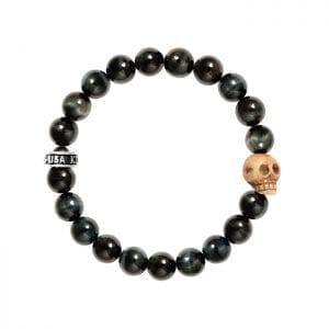 king_baby_bracelet_blue_tiger_eye_beaded_bracelet_with_bone_skull_charm