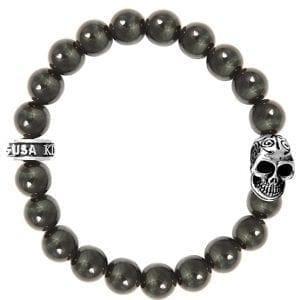 king_baby_bracelet_blue_tiger_eye_beaded_bracelet_with_sterling_silver_day_of_the_dead_center_station