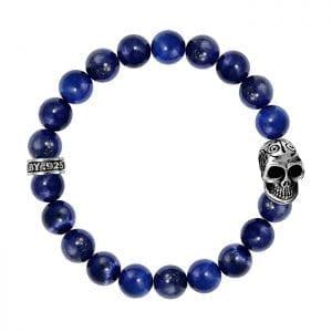 king_baby_bracelet_10mm_lapis_beaded_bracelet_with_sterling_silver_skull_motif